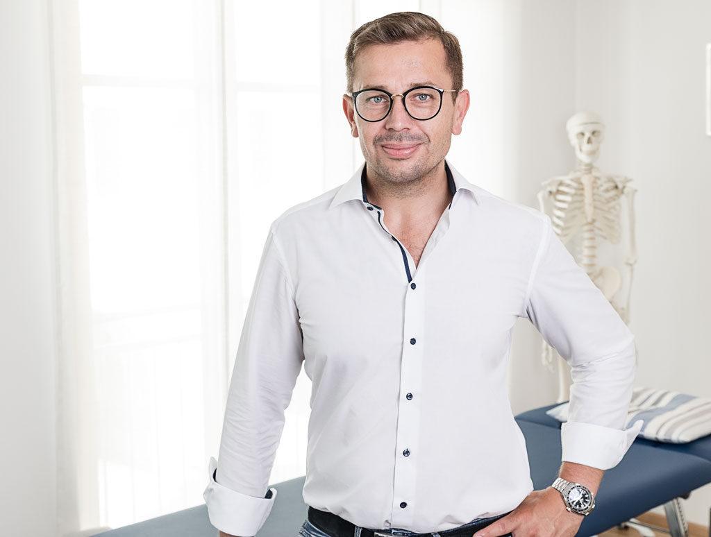 Osteopath Lorenz Rabanter Portrait
